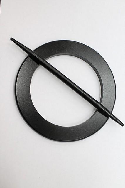 Заколка для штор и кисеи арт. 2301 col Черный