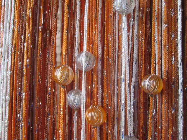 Кисея Дождь радуга с шарами col 1+3+10