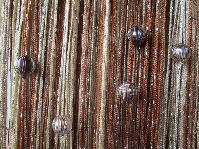 Кисея Дождь радуга с шарами col 10+13+14
