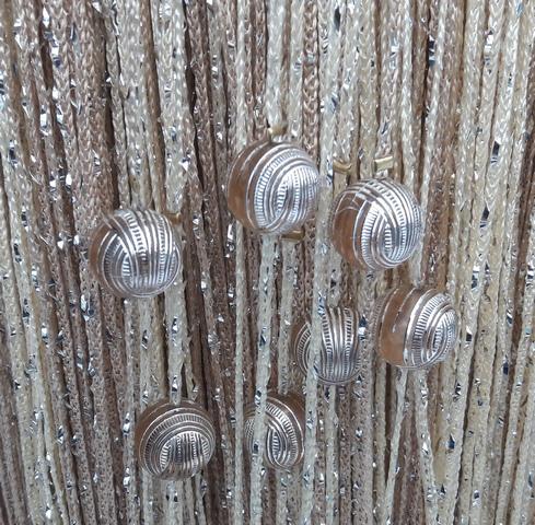 Кисея Дождь радуга с шарами col 13+14