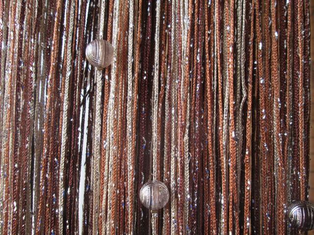 Кисея Дождь радуга с шарами col 8+10+14