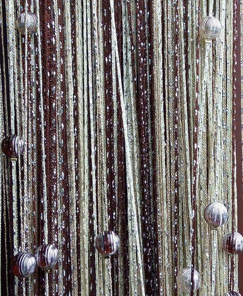 Кисея Дождь радуга с шарами col 8+13+14