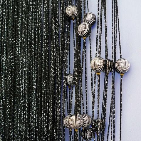 Кисея Люрекс с шарами col 142