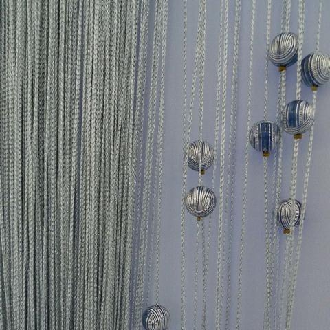 Кисея Люрекс с шарами col 150