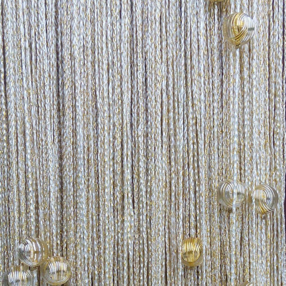 Кисея Люрекс с шарами col 152-2
