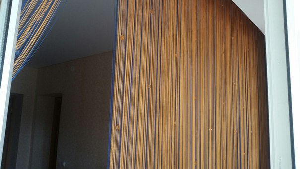 Кисея Однотонная с кубиками col 3 в интерьере