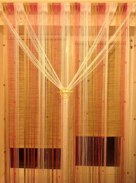 Кисея Радуга с кубиками col 1+5+6+14 в интерьере
