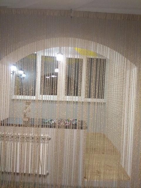 Кисея Спираль однотонная col 14 в интерьере 2