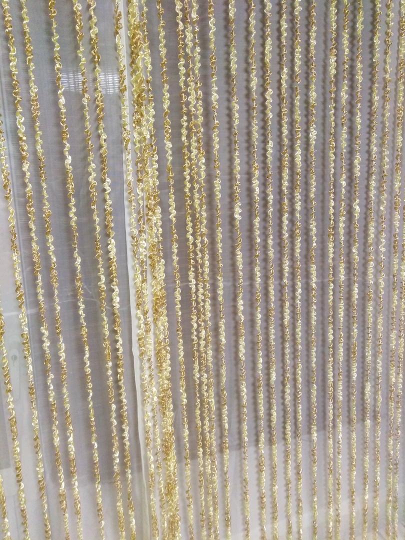 Кисея Спираль радуга col 13+14 в интерьере 5