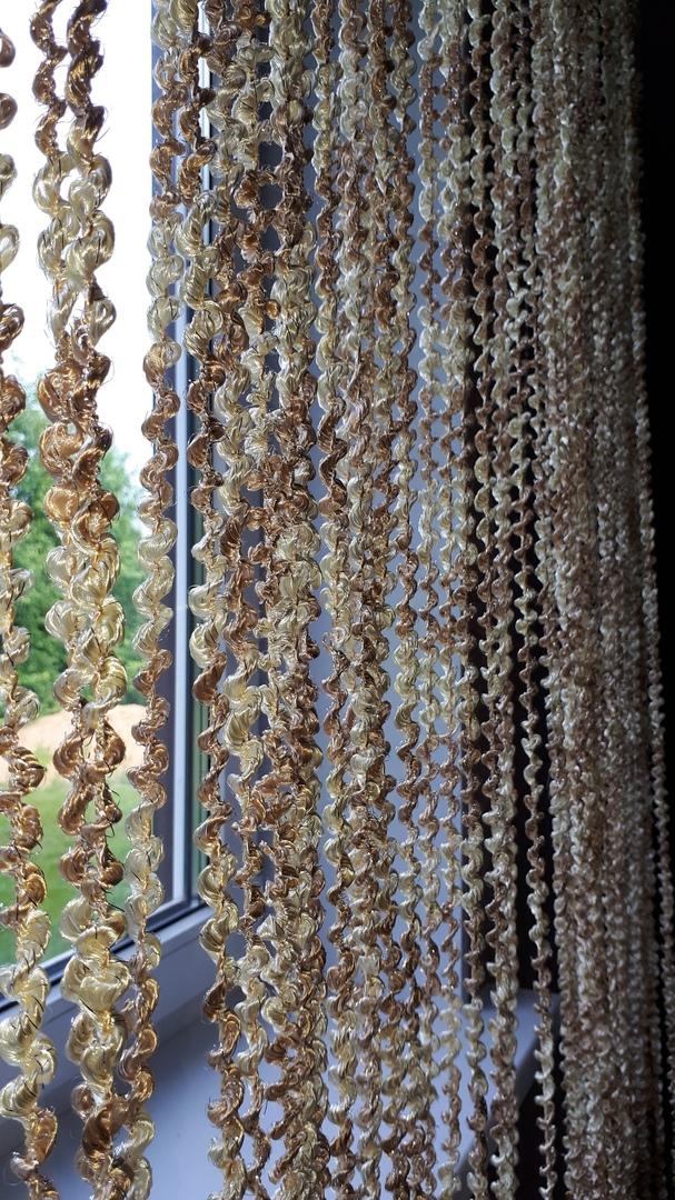 Кисея Спираль радуга col 13+14 в интерьере