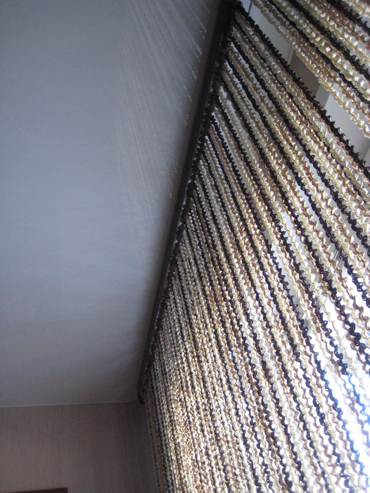 Кисея Спираль радуга col 14+203+204 в интерьере 12