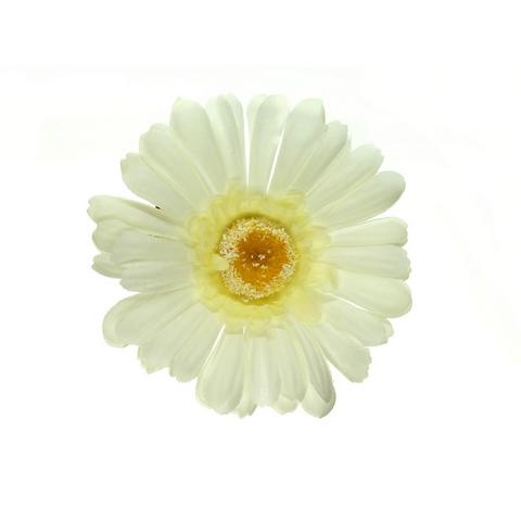 Клипса Маленький цветок col Белый