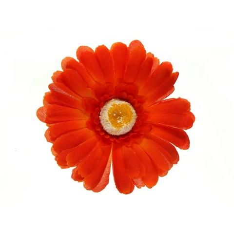 Клипса Маленький цветок col Красный