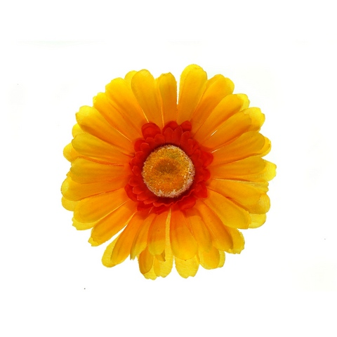 Клипса Маленький цветок col Оранж