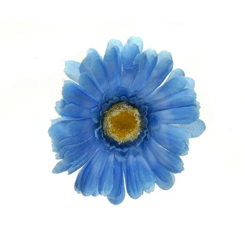 Клипса Маленький цветок col Синий