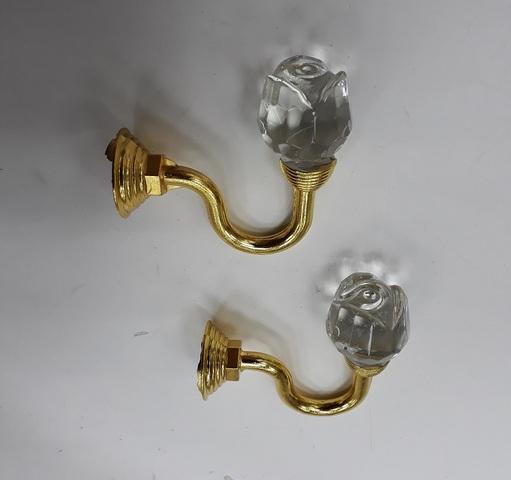 Крючки для подхватов S-0111 золото
