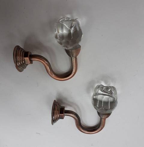 Крючки для подхватов S-0111 медь