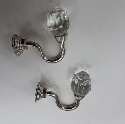 Крючки для подхватов S-0111 серебро