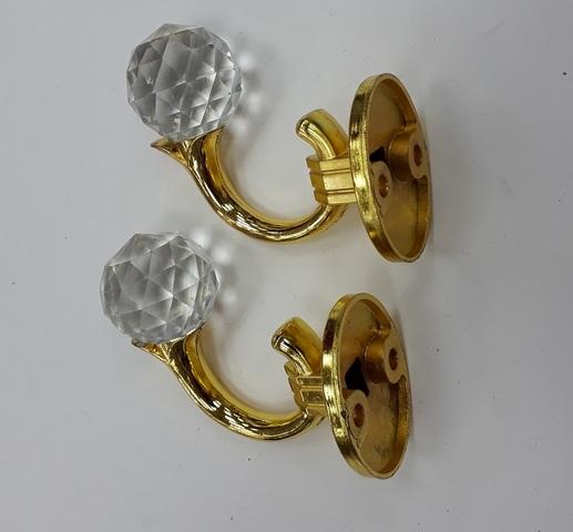 Крючки для подхватов S-0803 золото