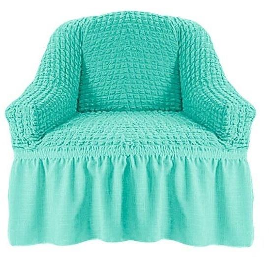Чехол на кресло бирюза