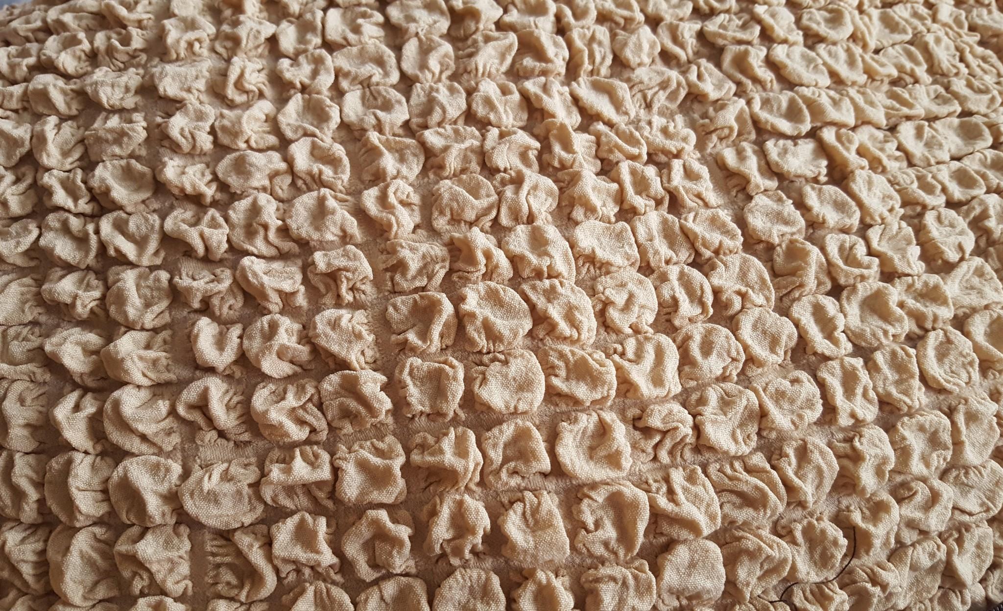 Чехол на угловой диван песочный 1