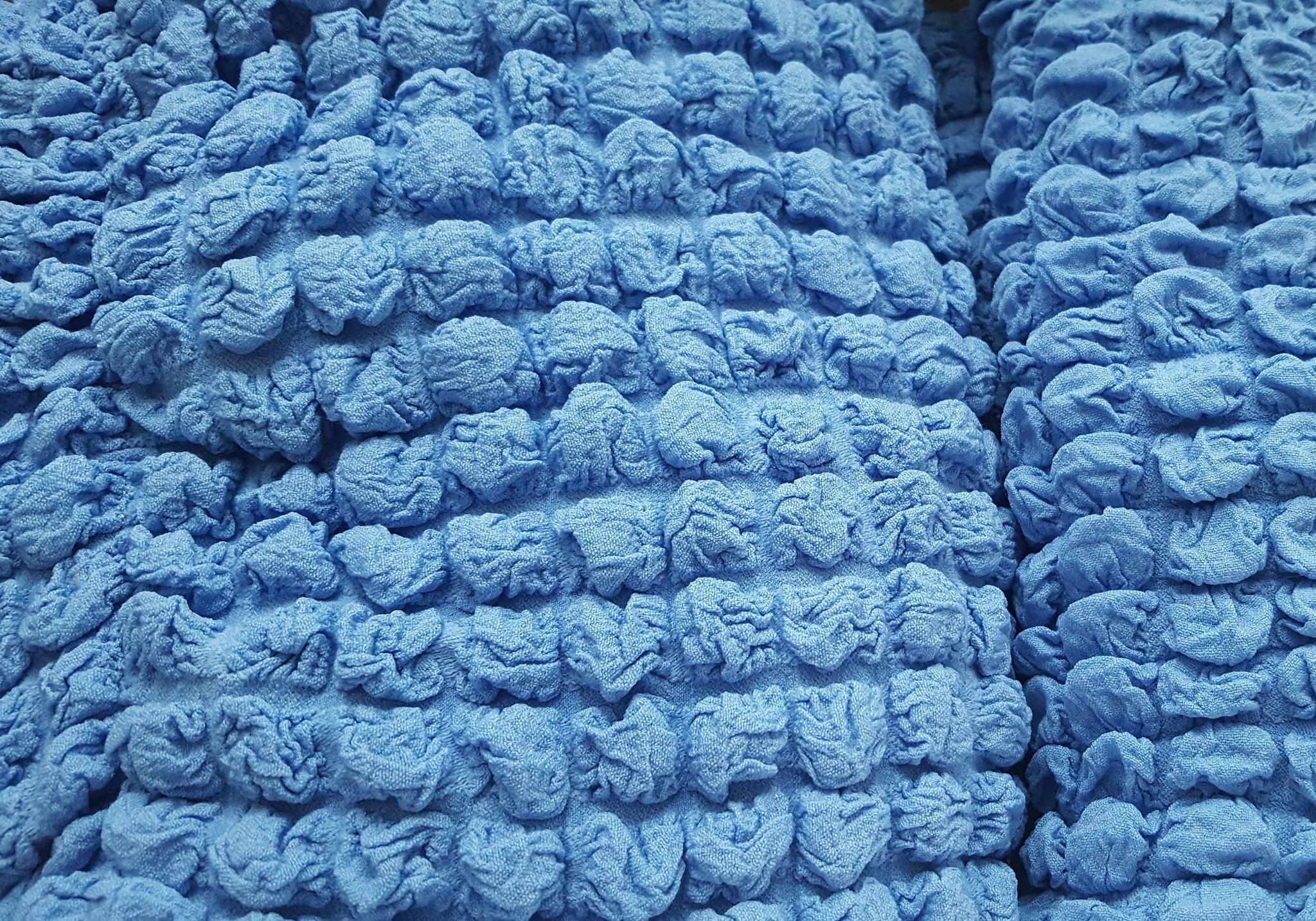Чехол на 3-х местный диван синий 1