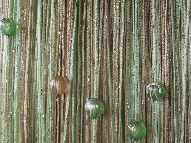 Кисея Дождь радуга с шарами col 13+14+15