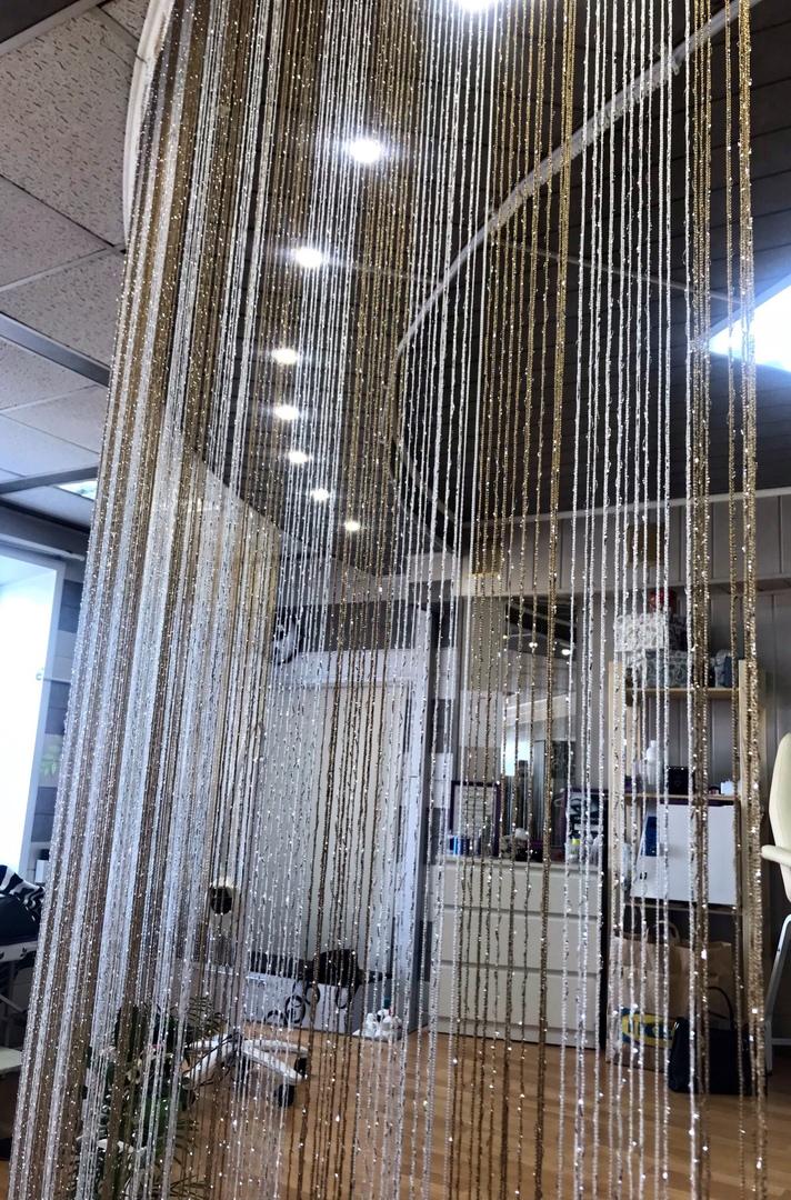Фото нитяные перегородки шторы цвета оттенки