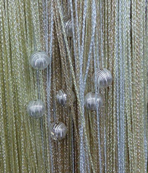 Кисея Люрекс радуга с шарами col 123