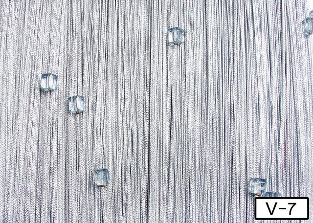 Кисея Однотонная с кубиками col 7