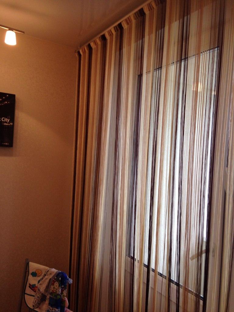 голубкина нитяные шторы на потолочном карнизе фото социальных сетях