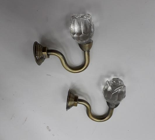 Крючки для подхватов S-0111 старое золото