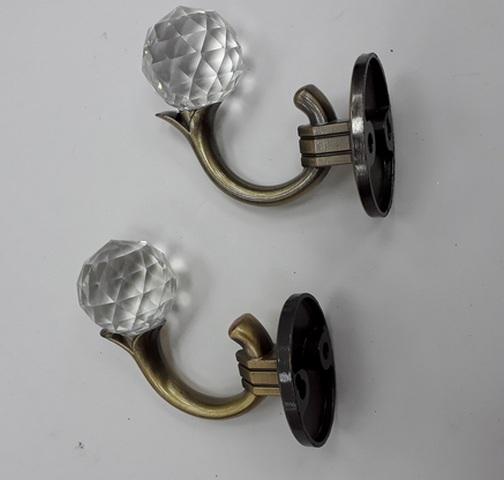 Крючки для подхватов S-0803 старое золото