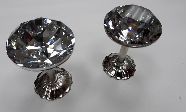 Крючки для подхватов S-10908 серебро