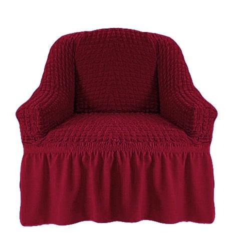 Чехол на кресло бордо